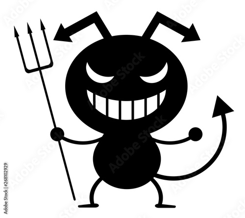 Tableau sur Toile 悪魔のキャラクター