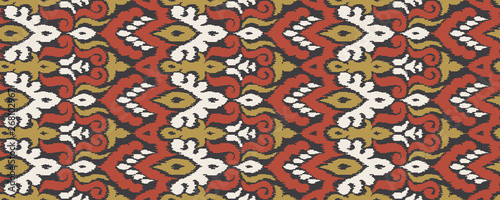 Ethnic Style Vector Seamless Pattern Wallpaper Mural