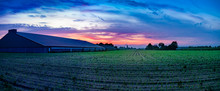 Colorful Sunrise, Typical Dutc...