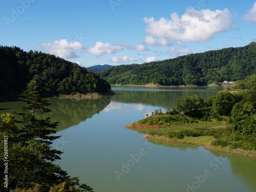 北海道の風景 Canvas Print