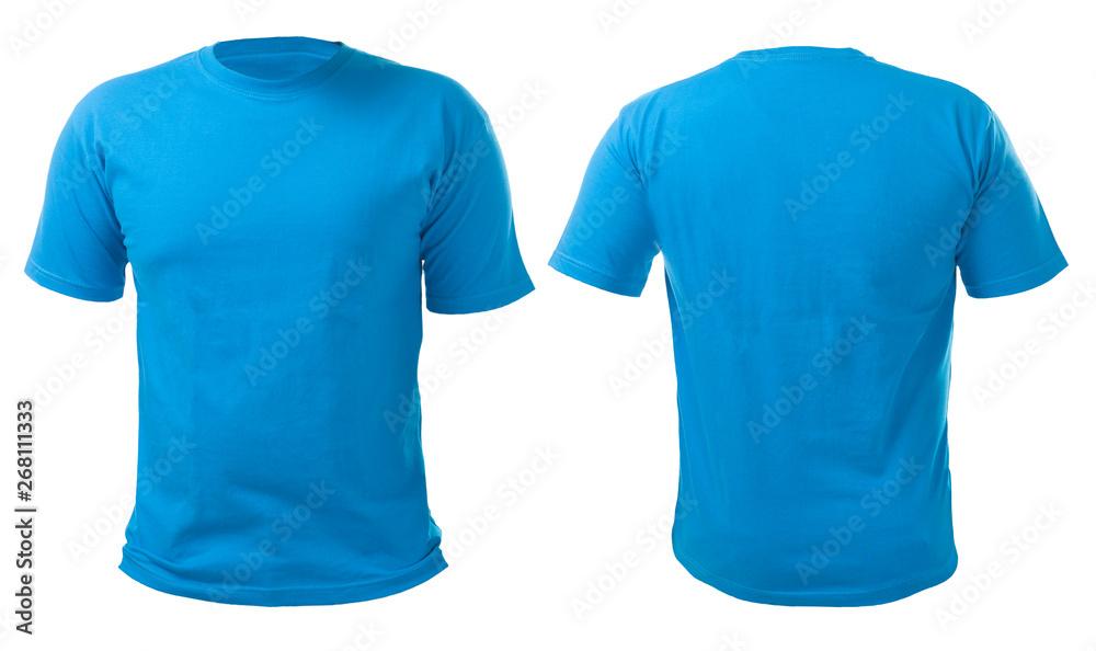 Fototapety, obrazy: Blue Shirt Design Template