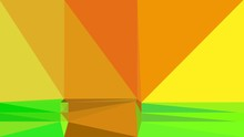Abstract Color Triangles Geome...