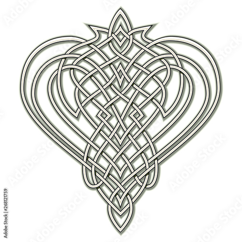 image regarding Henna Templates Printable named Myth drawing of Celtic distinguished ornament with interweaving