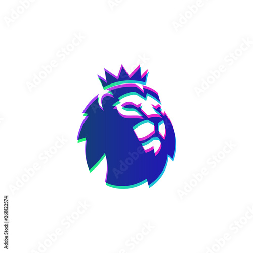 Fotografie, Obraz  barclays epl official logo template vector icon symbol illustration