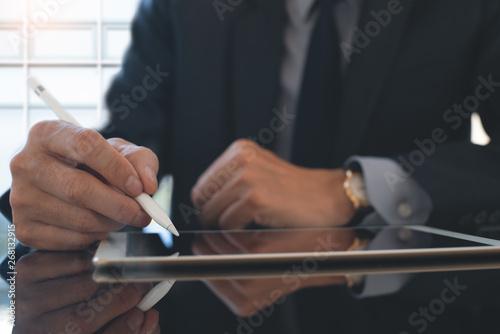 Electronic signature Fotobehang