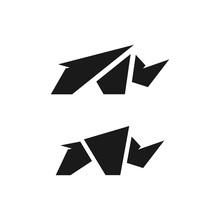 Rhino Logo Design Template