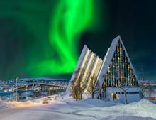 Norwegen Tromso Eismeerkathedr...