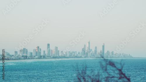 Spoed Foto op Canvas Dubai Surfers Paradise Gold Coast