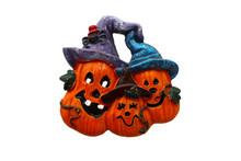 Halloween Cat Candy Pumpkin