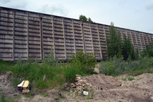 Abandoned Industrial Complex. Kiev Region,Ukraine