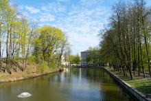Pond Lopatinsky Garden In Smolensk