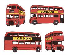 Vector Illustration Of Bus