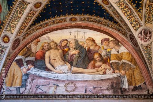 Fotomural Italy, 28/03/2019: San Maurizio al Monastero Maggiore, a 1518 church known as th
