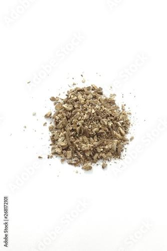 Slika na platnu Dried Greater burdock root (Arctium lappa)
