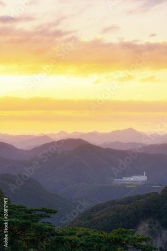 妙見山の風景 Canvas-taulu