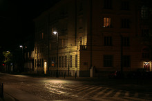 Empty Streets Of The Night Cit...
