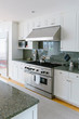 Stove in Contemporary Kitchen
