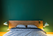 Cosy Bedroom In Contemporary I...