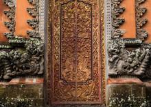 Beautifully Carved Wooden Door...