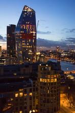 London Cityscape, Financial Area.