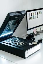 Scanner For Film Frames