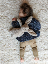 Baby Resting With Bunny