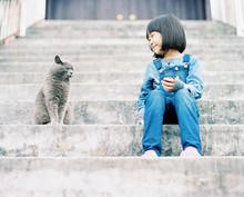Cute And Beautiful Asian Child...