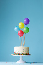Birthday Cake Decorated With C...