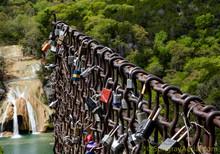 Locks Of Love At Turner Falls
