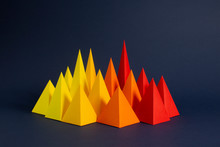 Red, Orange And Yellow Paper P...