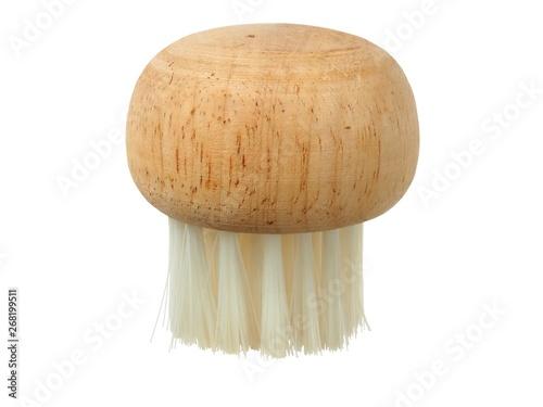 Fotografia Wooden brush for mushrooms