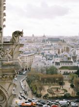 Paris View From Notre-Dame De Paris