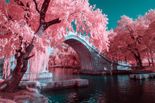 The Summer Palace Of Beijing,in Infrared Light