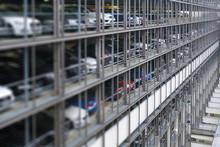 Large Modern Parking Garage