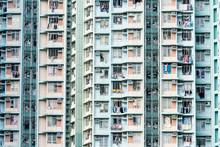 Residential Building Exterior In Hong Kong