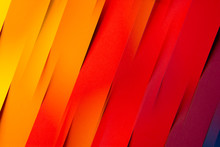 Abstract Of Colorful Folded Paper