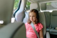 Cute Young Girl Watching Enter...