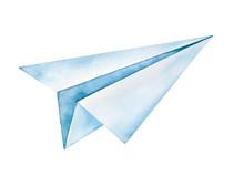 Handmade Folded Paper Plane Wa...