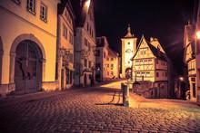 Rothenburg Ob Der Tauber In Ge...
