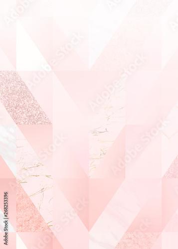 Elegant girly design Canvas Print