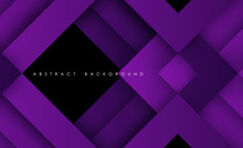 Abstract Modern Purple Triangl...