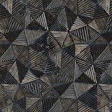 Geometry modern repeat pattern with textures - 268270960