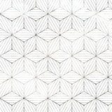 Geometry modern repeat pattern with textures - 268271771