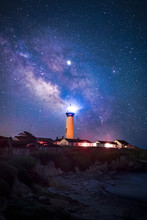 Milky Way At Pigeon Point Ligh...