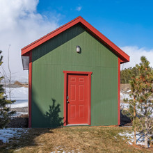 Square Small Wooden Storage Sh...