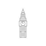 Fototapeta Big Ben - Big ben clock, britain, london, monument, united kingdom, world monuments icon, isolated on white background