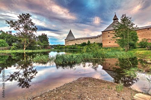 Vászonkép Staroladozhskaya fortress, Staraya Ladoga, Leningrad region, Russia