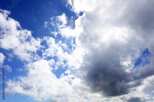 Stampa su Tela  南国沖縄の紺碧の空と夏雲