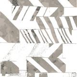 Geometria nowoczesny wzór powtarzalny z teksturami - 268307946