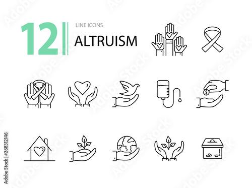 Photo Altruism icons